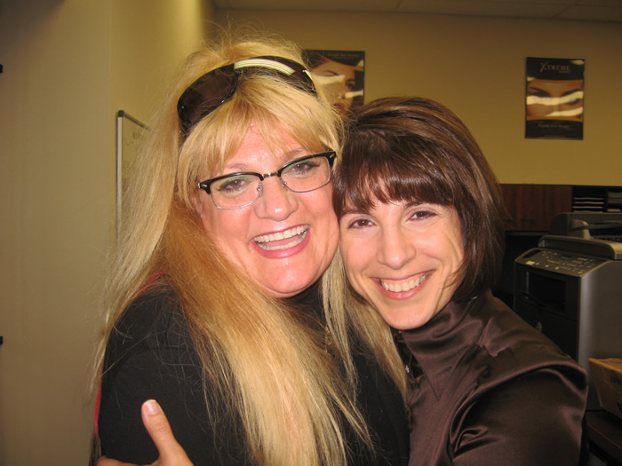 Sher with Jo Mouselli